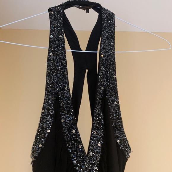 BCBG Dresses & Skirts - BCBG drape Black  Dress